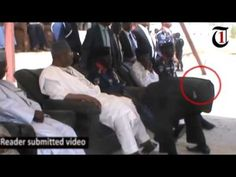 "VIDEO: Nigeria's Interior minister, Dambazau, converts SSS officer to ""shoe shiner"" - http://www.naijacenter.com/news/video-nigerias-interior-minister-dambazau-converts-sss-officer-shoe-shiner/"