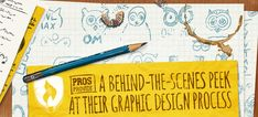 Pros Provide a Behind-the-Scenes Peek at Their Graphic Design Process Career Exploration, Design Process, Behind The Scenes, Graphic Design, College, University, Visual Communication, Community College