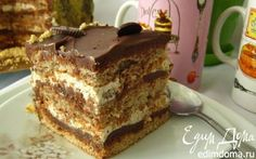 "Торт ""Марджолайн"" | Кулинарные рецепты от «Едим дома!»"