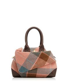 Vivienne Westwood  Winter Tartan Orb bag