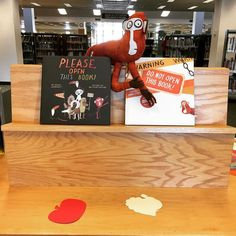 Monkeys have taken over the Bucks County Free Library in Doylestown! #ReleaseDay #DontBeABookCloser
