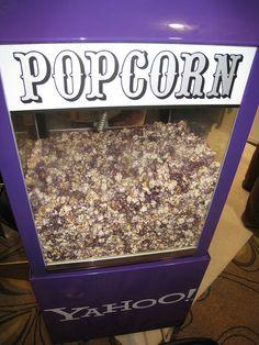 purple popcorn!