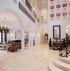 Breathtaking Boca Raton Mansion Dream homes, luxury mansions, celebrity homes, ultimate kitchen and bathroom ideas on your computer, IOS and Android #mansion #dreamhome #dream #luxury http://mansion-homes.com/dream/breathtaking-boca-raton-mansion/?viewall=true