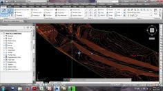 Curso de Autocad Civil 3d 2014 parte 3 diseño de carreteras - dibujo Ali...
