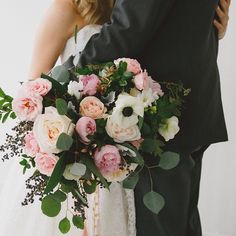 Big love and a big bouquet xo  Sweet shot by @thissweetlove   Florals designed by @hpage