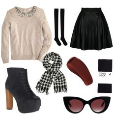 Ice skating date outfit