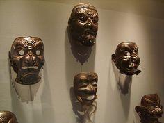 Máscaras samurai
