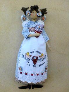 linda boneca, 100% algodão, rica em detalhes R$85,00