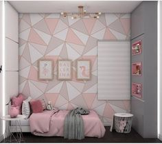 Room Paint Designs, Bedroom Wall Designs, Bedroom Bed Design, Room Ideas Bedroom, Home Room Design, Bedroom Decor, Luxurious Bedrooms, Room Inspiration, Decoration