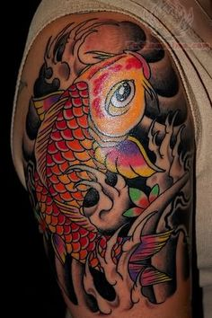 Koi Tattoos Pictures and Images