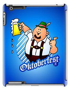 Oktoberfest - man in lederhosen iPad case. #Redbubble #Cardvibes #Tekenaartje #Wiesn