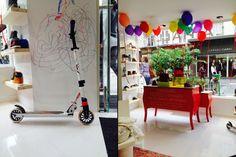 La Halle Kidshoes Concept Store by Superbrand, Paris – France shoes kids store design
