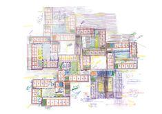 jo taillieu architecten Visualising, The Office, Diagram