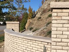 Front Stone Wall