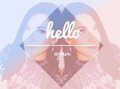 Hello again.