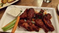Chicken wings at Arbor Brewing Company