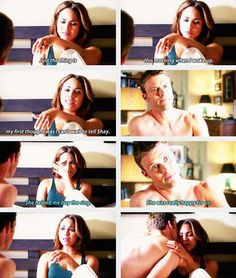 Dawson: Just the thing is this morning when I woke up, my first thought was I can't wait to tell Shay. Casey: She helped me buy the ring. She was really happy for us. 3x02