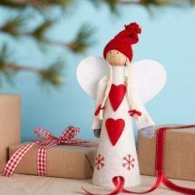 Nordic Angel Christmas Tree Topper