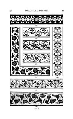 Historic ornament, elements of ornament, practi...