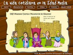 ¡Aprender también es divertido!: La vida en la Edad Media