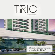 Offices inovadores e exclusivos a partir de 40 m².