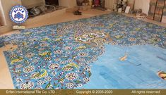 """""""Design, manufacture and installation of handmade swimming pool floor ceramic tiles"""" Handmade Tiles, Handmade Design, Swimming Pool Architecture, Floor Carpet Tiles, Swimming Pool Tiles, Picture Tiles, Iranian Art, Tile Projects, Color Tile"""
