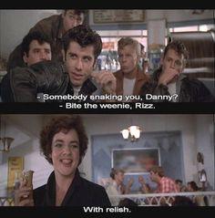 - Danny Zuko and Betty Rizzo in Grease (1978)