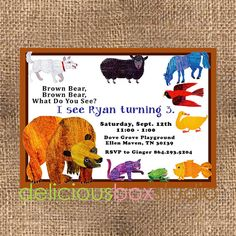 Brown Bear Brown Bear What do you See Party
