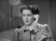 Norma Shearer on the phone, look at that ring! I read it was worth 175k in 1939!