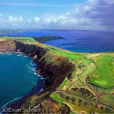 Old Head Golf Links in Ireland from @evan_schiller_photography ◉ re-pinned by  http://www.waterfront-properties.com/pbgoldmarshclub.php