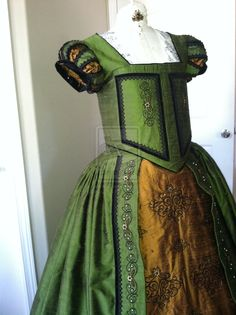 Elizabethan Costume by Designs From Time by DesignsFromTime on DeviantArt
