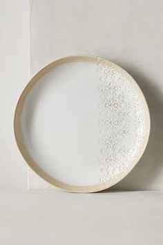 Only Dinner Plate, Dessert Plate, and Bowl only; Quantity: 12. Blooming Lace Dinnerware #anthropologie