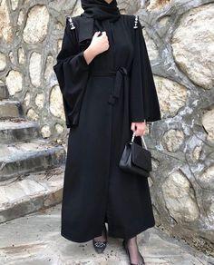 Niqab Fashion, Modern Hijab Fashion, Hijab Fashion Inspiration, Muslim Fashion, Fashion Outfits, Hijab Chic, Hijab Style, Outfit Pinterest, Modele Hijab