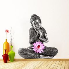 Buddhism Nepal Tibet Decor Wall Sticker by decalSticker on Etsy, $68.00