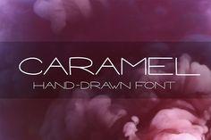 CARAMEL - Hand drawn Sans Serif font  @creativework247