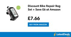 Discount Bike Repair Bag Set + Save £6 at Amazon, £7.66 at Amazon