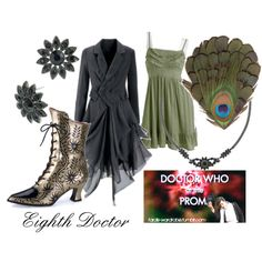 Doctor Who goes to the prom: Eighth Doctor (I'm in love with this ensemble.)
