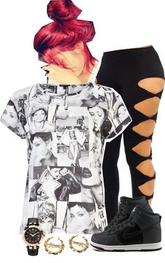 """""""Well.... YOLO"""" by imoni-dixon ❤ liked on Polyvore"""