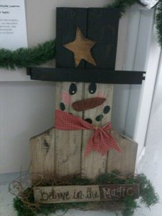 Made similar snowmen from tobacco sticks a couple of years ago.