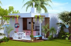 Plantas de Casas – Edicula – dir -z
