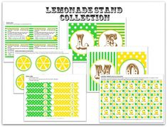 lemon love printables - possible missional community activity for children's ministry?