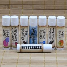 Harry Potter Inspired Lip Balm Collection