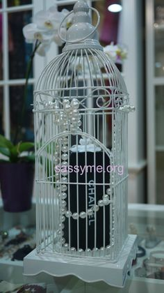 Chanel Numeros Prives inspired cage.