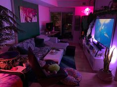 MaleLivingSpace is dedicated to places where men can live. Here you can find posts discussing, showing, improving, and maintaining apartments,. Bedroom Setup, Room Design Bedroom, Room Ideas Bedroom, Hangout Room, Chill Room, Neon Room, Cute Room Decor, Hippie Room Decor, Game Room Design