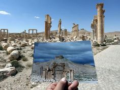 Palmyra: Photographer's powerful before and after photos show city's destruction at hands of Isis