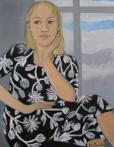 Nicole Le Groumellec, Reflexion 2 on ArtStack #nicole-le-groumellec #art