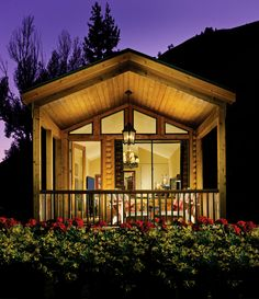 Enjoy your cabin by the creek: Wyoming