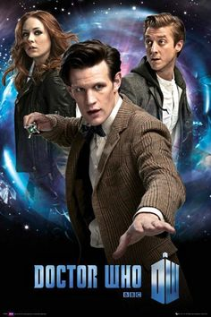Mini Poster 50cm x 40cm new and sealed Doctor Who Tardis and Amy