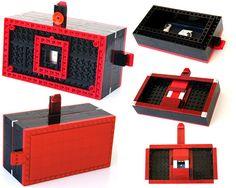 Lego Pinhole Camera #Lomography #Cameras #LomographyCameras