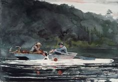 Winslow Homer Watercolors | Winslow Homer to Eva Hesse: Watercolors from the Bowdoin Collection
